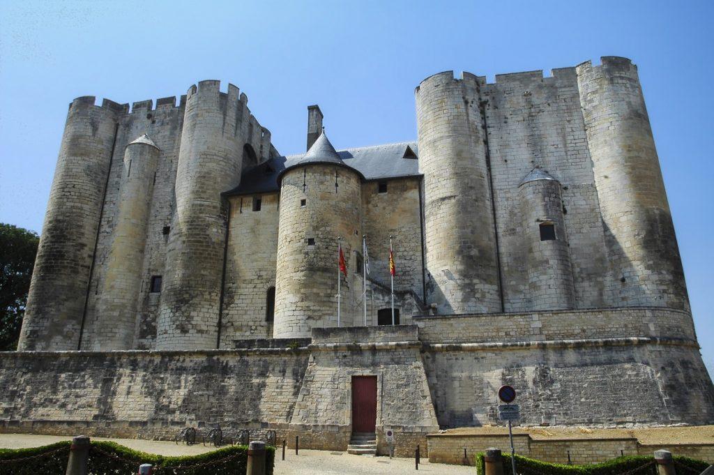 Niort (Deux-Sevres, Poitou-Charentes, France) : le château médiéval