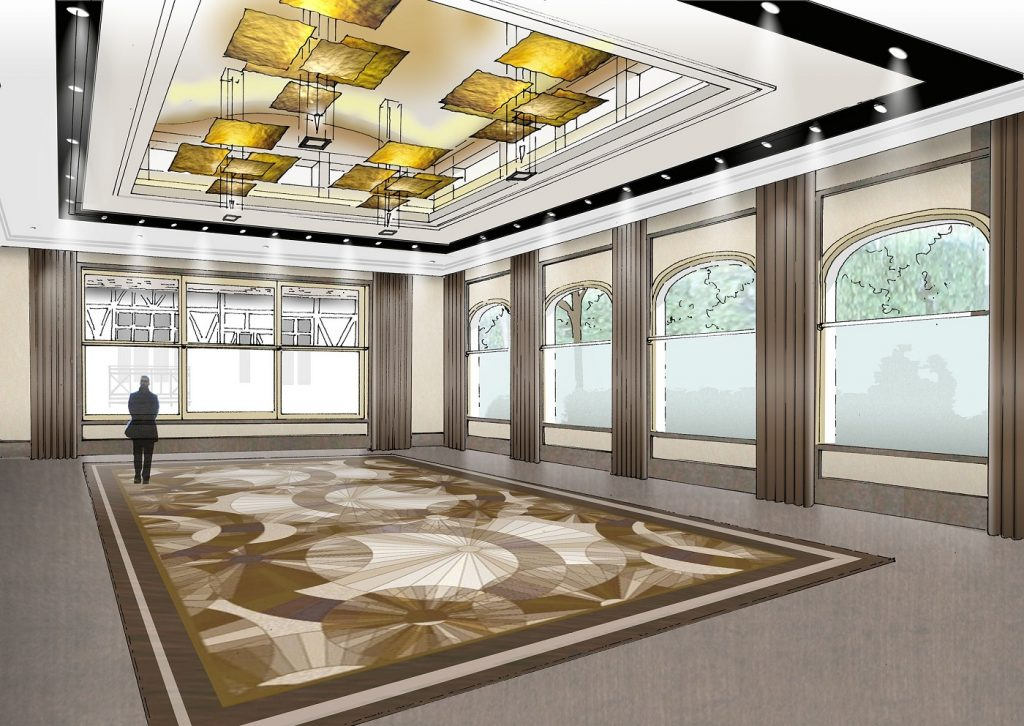 Pavillon Dauphine Roughts salon 1