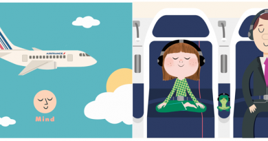 réunir programme de méditation Air France et Mind
