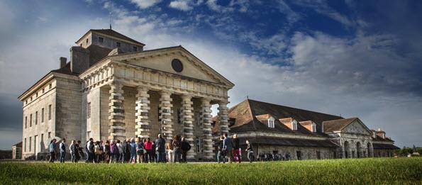 Saline royale d'Arc-et-Senans - Site classé au Patrimoine mondial de l'UNESCO - France