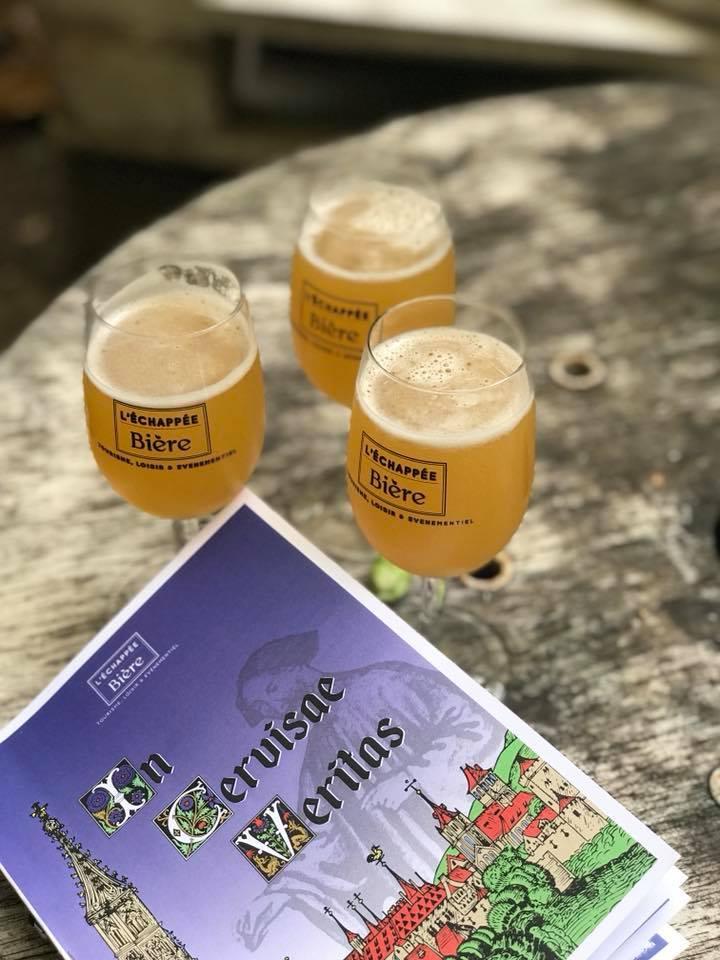Echappe Biere en Alsace - BD Sebastien Duban - Beatus Cervisius